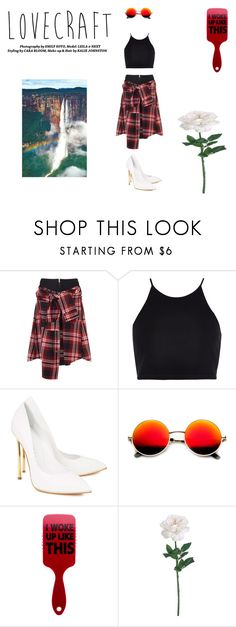 """This"" by vestido-azul ❤ liked on Polyvore featuring David Szeto, River Island, Casadei, Revo and Wet Seal"