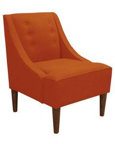 White Label Cara Chair - Orange  I'll take two.