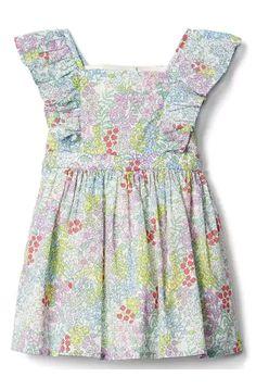 Floral Flutter Dress   Gap