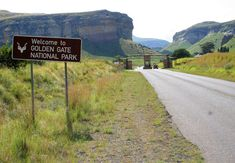 Golden Gate National Park in Clarens, Free State. Nestled in the rolling foothills of the Maluti Mountains of the north-eastern Free State lies the . Free State, Game Reserve, Golden Gate, South Africa, National Parks, Country Roads, Mountains, Southern, Travel