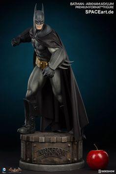 Eine extrem coole Batman Statue ist wieder Mal von Sideshow angekündigt. Schaut hier: http://spaceart.de/produkte/bm029.php ... Wie immer könnt Ihr Euch bei uns eintragen lassen. Wir informieren Euch dann sofort, wenn die Statue bei uns verfügbar und bestellbar ist. ... Wie findet Ihr denn eigentlich diese Batman Games?