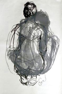 Justyna Mikusz // lino-cut 1,5m x 1m
