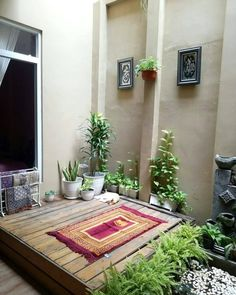 Home Interior, Interior And Exterior, Home Room Design, House Design, A Frame House Plans, Prayer Corner, Model House Plan, 3d Wall Decor, Islamic Wall Decor