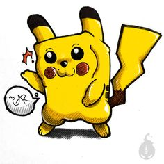 Pikachu Pokemon. by LowClassManStudio.deviantart.com on @DeviantArt