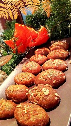 Greek Sweets, Greek Desserts, Greek Recipes, Sweets Recipes, Cooking Recipes, Xmas Food, Yams, Pretzel Bites, Food Network Recipes