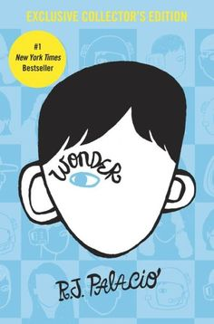 RJ Palacio has written a modern classic- a funny, uplifting, and incredibly moving novel to read in one sitting, pass on to others, and remember long after the final page. Wonder by RJ Palacio Nicholas Sparks, This Is A Book, The Book, Reading Lists, Book Lists, Reading School, Wonder Palacio, New York Times, Book Tag