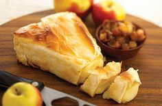 Baby Brie in Phyllo