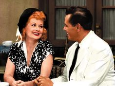Lucille Ball and Desi Arnaz ~ The Lucy-Desi Comedy Hour