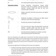 CÓDIGO PARA LA CORRECCIÓN DE LOS TEXTOS ESCRITOS1Subrayado : Falta de ortografía (b/v, j/g, h, mayúsculas, tilde...)X : Error de puntuación (punto, coma, do. http://slidehot.com/resources/codigo-de-autocorreccion.9681/