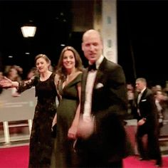 The Duke and Duchess of Cambridge at the 2018 British Academy Film Awards on February 18th, 2018.
