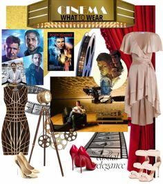 What To Wear, Cinema, Lifestyle, Elegant, Luxury, Unique, Polyvore, Image, Fashion