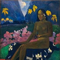 """The William S. Paley Collection: A Taste for Modernism Gaugin's """"Seed of the Areoi"""""""