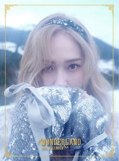 Jessica-[Wonderland] Mini Album Cd+Photo Book+Photo Card K-Pop Sealed Jessica & Krystal, Krystal Jung, 2ne1, Btob, K Pop, Jessica Jung Wonderland, Wonderland 2017, Girls Generation Jessica, Ex Girl
