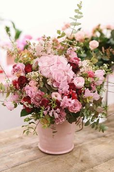 Flowers Bucket Ideas: Trendy flowers bucket bouquets floral arrangements ideas Flowers Bucket I Beautiful Flower Arrangements, Floral Arrangements, Beautiful Flowers, Deco Floral, Arte Floral, Floral Design, Bouquet Champetre, Raindrops And Roses, Bloom