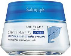 ORIFLAME OPTIMALS WHITE OXYGEN BOOST NIGHT CREAM 50 ML Saloni™ Health