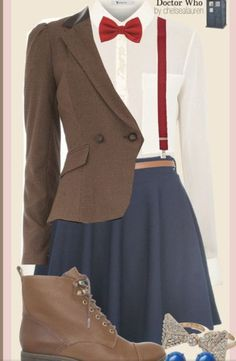 This would actually be super cute to wear to school!