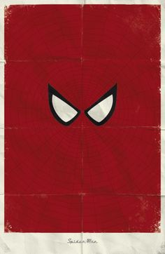Spiderman - Minimalist Superhero posters by Marko Manev