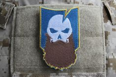 """ITS Beardcember Morale Patch - Whether you call it """"Beardcember"""" or """"Decembeard,"""" we can all agree that beards are awesome and we made a new morale patch to prove it. Pick up your Beardcember Morale Patch here! http://itstac.tc/19mzqqT"""