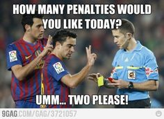 Barca gets two penalty calls, AC Milan none! Difference of the game... Go messi!!
