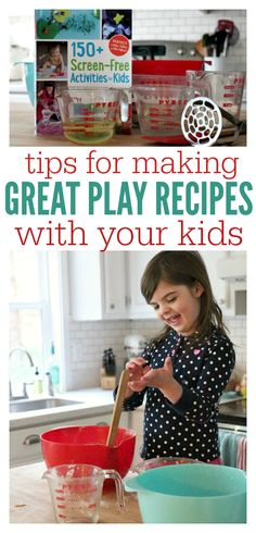 Let them loose in the kitchen! Play recipes and more.