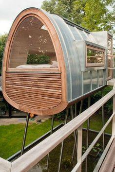 Modern Tree House Window