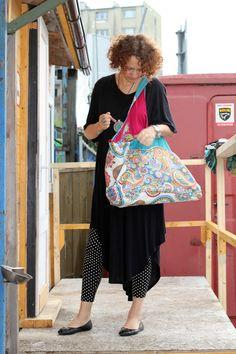 bag BOHO EVE casual bag, embroidered