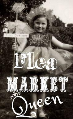 Flea Market Queen #junk #junkin #fleamarket #queen