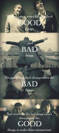 Sherlock with Doctor Who Quote <-- one of my favorite quote from doctor who (Vincent and the doctor)