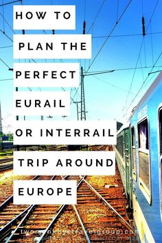How to Plan the Perfect Eurail or Interrail Trip Around Europe -- Travelling around Europe has been one of many travel goals I have on my list. I wanted to explore the continental Europe via train travel, as I find it convenient and extraordinary. That fe Travel Around Europe, Europe Travel Tips, Travel Goals, European Travel, Travel Around The World, Travel Guides, Places To Travel, Travel Destinations, Travel Packing