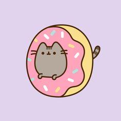 Cute Little Drawings, Cute Cartoon Drawings, Kawaii Drawings, Cute Pastel Wallpaper, Cute Wallpaper Backgrounds, Cute Cartoon Wallpapers, Cute Kawaii Backgrounds, Gato Pusheen, Pusheen Stickers