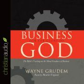 "Can business activity in itself be morally good and pleasing to God? Sometimes business can seem so shady-manipulating the ""bottom line"", deceiving the consumer, or gaining promotions because of whom you know. But Wayne Grudem introduces a novel concept: business itself glorifies God when it is conducted in a way that imitates God's character and creation. He shows that all aspects of business,including ownership, profit, money, competition, and borrowing and lending...$13.99"