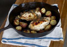 Lavender Roasted Chicken (via marriahlavigne.com)