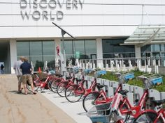 Milwaukee's First Bike-sharing Station -   A demonstration bike-sharing station will open on July 1st at Discovery World.