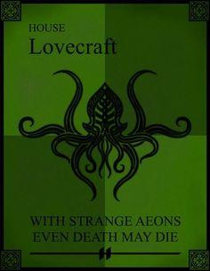 House Lovecraft sigil.