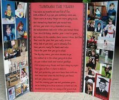graduation photo boards | Graduation Display board - Markers - Cricut Forums
