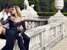 Anja Rubik Stars in APART Campaign by Marcin Tyszka #fashion trendhunter.com