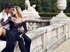 Anja Rubik Stars in APART Campaign by Marcin Tyszka #fashion trendhunter.com