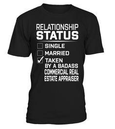 Commercial Real Estate Appraiser - Relationship Status