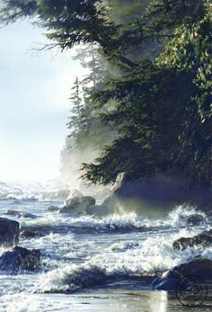 Afternoon High Tide   Carol Evans