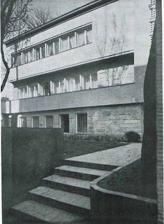 Bohdan Pniewski, Warsaw, 1935-36