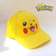 Gorra Pikachu Pokemon Pikachu Halloween Costume, Halloween Costumes, Skateboard Hats, Pokemon Birthday Cake, Drawings Pinterest, Cute Hats, Girl With Hat, Anime Outfits, Big Boys