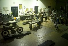 Falcon motorcycles workshop
