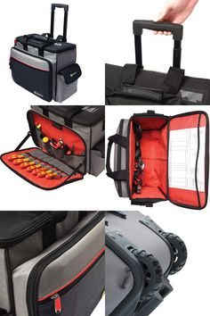 Take the Strain off your back with CK's Technician's Wheeled Toolcase Max - introducing this new tool case from Carl Kammerling. Back Strain, Professional Electrician, List Of Tools, Work Site, Tools And Equipment, Product Offering, Tool Storage, New Product, Workplace