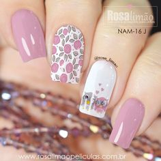 We have combined the most fashionable nail designs for you. If you want to have very nice quotes this summer, you should definitely look at these models. you are sure that one of these models is your style! Great Nails, Fabulous Nails, Gorgeous Nails, Cute Nails, My Nails, Nail Art Designs Videos, Nail Designs, Nail Art Printer, Nagellack Design