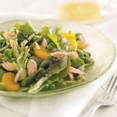 Springtime Salmon Salad Recipe from Taste of Home -- shared by Trisha Kruse of Eagle, Idaho