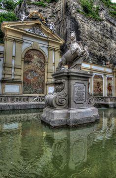Horse Fountain - Salzburg, Austria