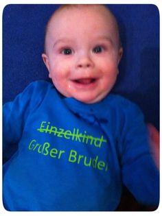 Großer Bruder, selbstgestaltetes T-Shirt