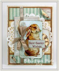 New vintage diy paper cards 48 ideas Easter Greeting Cards, Greeting Cards Handmade, Easter Card, Atc Cards, Paper Cards, Bingo Cards, Diy Paper, Vintage Diy, Vintage Cards
