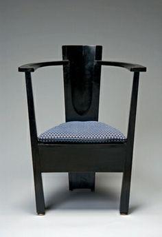 Armchair designed for the Dresden Werkstatten Exhibition Mackay Hugh Baillie Scott (British, 1865-1945) 1903-1904.