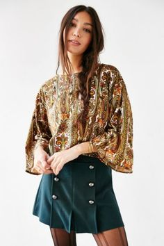 Motel Baroque Top - Urban Outfitters